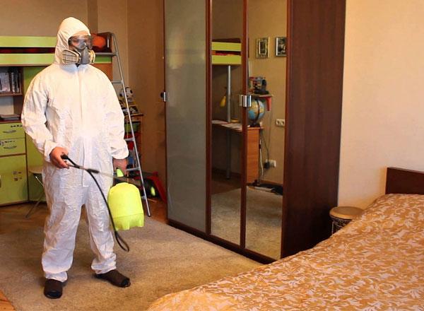 обработка квартиры санитарной службой