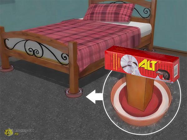 клей от клопов в подушках