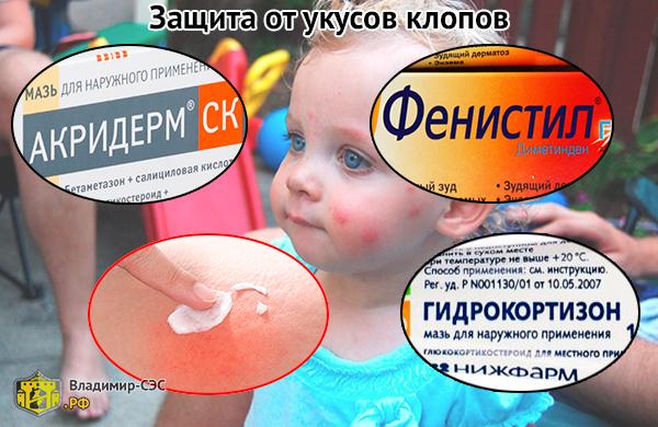 Как защититься от укусов клопов