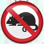 крыса запрещающий знак