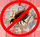 запрещающий знак таракан
