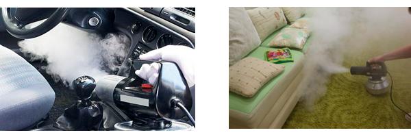 устранение запаха в машине и квартире