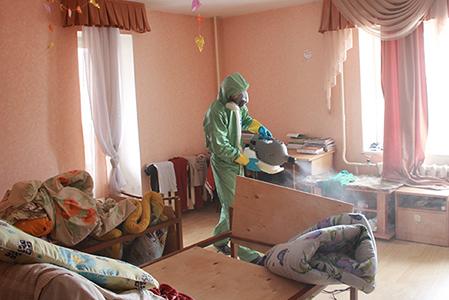 обработка от блох в квартире